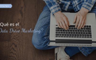 ¿Qué es el Data Drive Marketing?