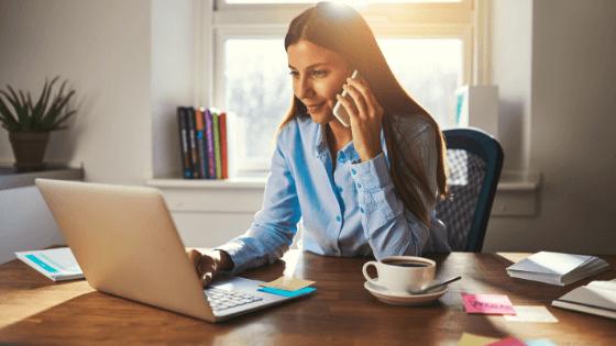 Mantén la productividad trabajando desde casa
