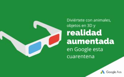 Diviértete con animales y objetos en 3D y realidad aumentada en Google esta cuarentena