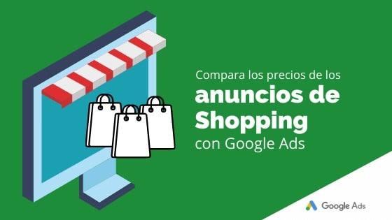 Compara los precios de los anuncios de Shopping con Google Ads